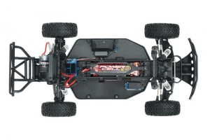 Traxxas Slash Dakar Edition 2WD - фото 11 шасси