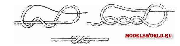 Как вязать морские узлы схемы